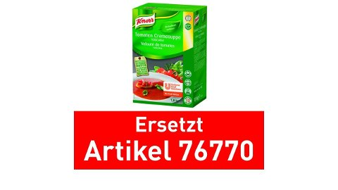 Knorr Tomaten Cremesuppe Toscana 1,8 KG -