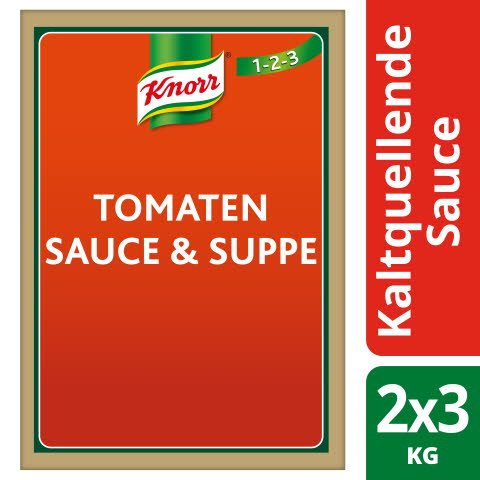 Knorr Tomaten Sauce & Suppe Kaltquellend 3 KG