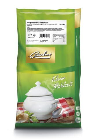 Caterline Ungarischer Gulaschtopf 2 KG (10 Portionen) -