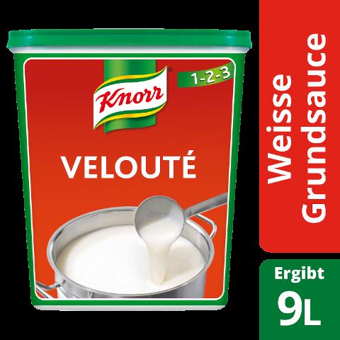 Knorr Velouté Weisse Grundsauce 1 KG - KNORR Velouté - der Klassiker, dem Köche seit 50 Jahren vertrauen.