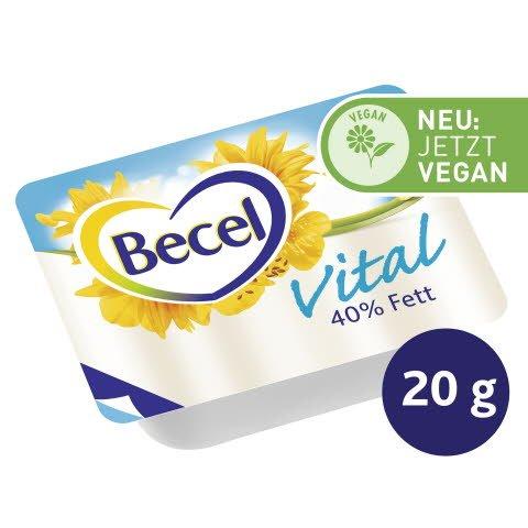 Becel Vital Halbfettmargarine 40 % Fett 120 x 20 g -