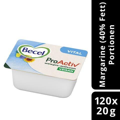 Becel Vital Halbfettmargarine 40 % Fett 20 g