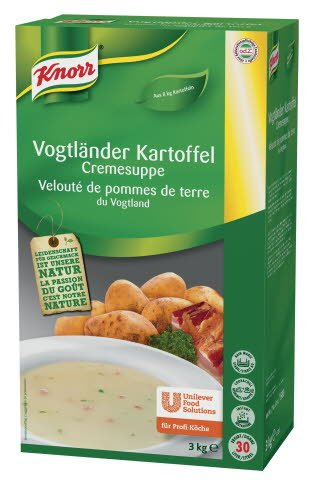 Knorr Vogtländer Kartoffel Cremesuppe 3 KG -