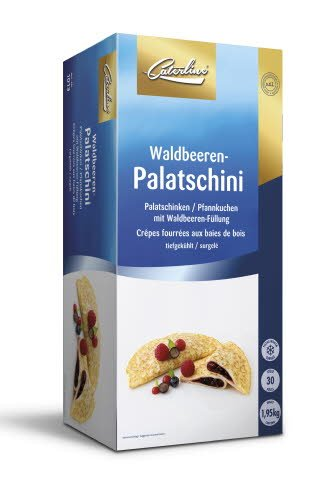 Caterline Waldbeeren-Palatschini 1,95 KG (30 Stk. á ca. 65 g)