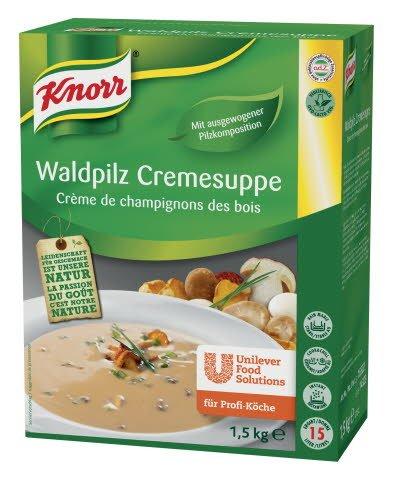 Knorr Waldpilz Cremesuppe 1,5 KG -