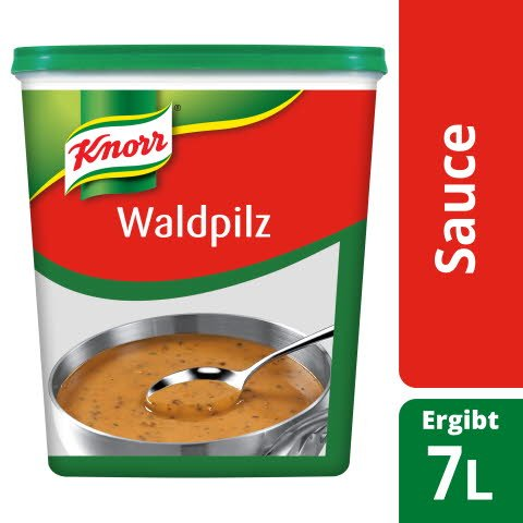 Knorr Waldpilz Sauce 1 KG -