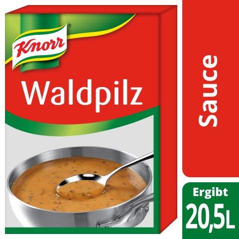 Knorr Waldpilz Sauce 2 X 3KG -