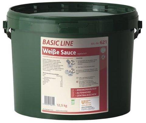 Basic Line Weiße Sauce vegetarisch 12,5 KG