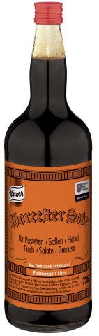 Knorr WORCESTERSAUCE WITH KULOER 1 L -