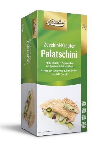 Caterline Zucchini-Kräuter-Palatschini 2,1 KG (30 Stk. à ca. 70 g)
