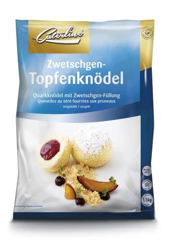 Caterline Zwetschgen-Topfenknödel 1,5 KG (30 Stk. à ca. 50 g)