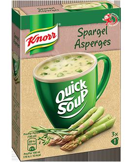KNORR Quick Soup Asperges 3 x 1 tasse