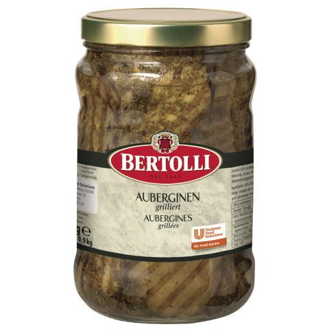 Bertolli Aubergines grillées 1,5 KG -