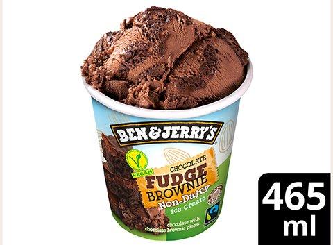 Ben & Jerry's Vegan Chocolate Fudge Brownie glace pot 465ml -