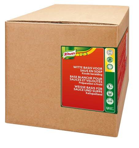 Knorr Base blanche pour sauces and veloutés, préparation à froid 2,5 KG -