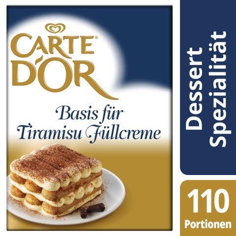 Carte D'or Base pour crème pâtissière Tiramisu 1,8 KG