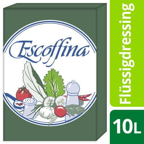 Escoffina Base pour sauce à salade avec 75% huile de tournesol 10 L