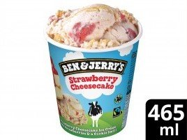 Ben & Jerry's Strawberry Cheesecake glace pot 465 ml -