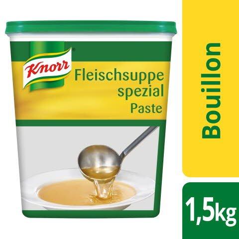 Knorr Bouillon de bɶuf spécial pâte 1,5 KG -