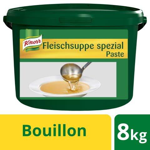 Knorr Bouillon de bɶuf spécial pâte 8 KG -