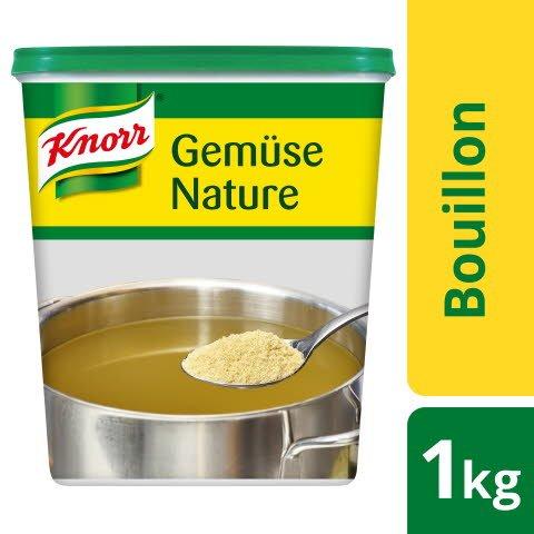 Knorr Bouillon de légumes Nature 1 KG -