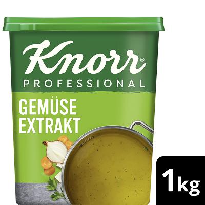 Knorr Professional Fond de légumes aux herbes 1 KG - Des légumes plus savoureux grâce au fond de légumes KNORR.