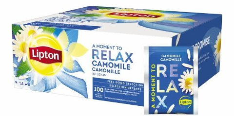 Lipton Camomille Infusion 100 sachets -