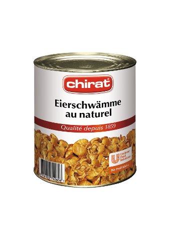 Chirat Chanterelles au naturel 1.5 cm 800g -