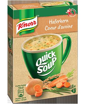 KNORR Quick Soup Cœur d'avoine 3 x 1 tasse