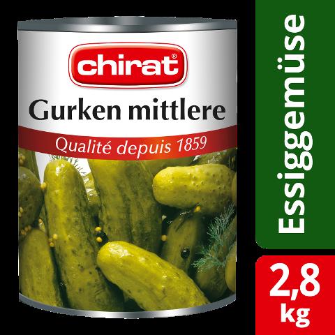 Chirat Concombres moyens 2,8 KG -