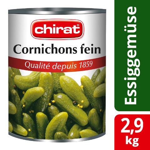 Chirat Cornichons fins 2,9 KG -