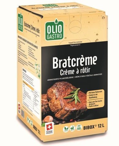 Oliogastro Crème à rôtir 12 L BiB -