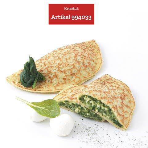 Caterline Crêpes aux épinards et à la mozzarella 2,4 KG (30 piéces á env. 80 g) -