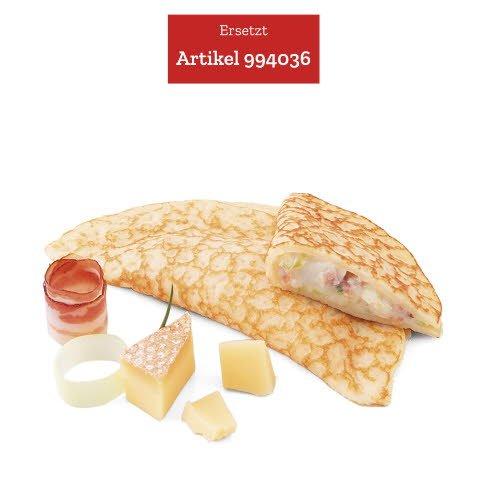 Caterline Crêpes au fromage, aux poireaux et au lard 2,1 KG (30 pièces à env. 70 g) -