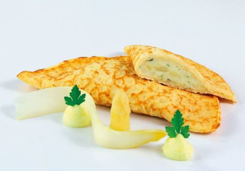 Caterline Crêpes de pâte d'épeautre aux asperges 1,95 KG -
