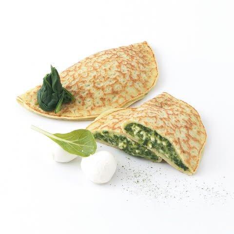 Caterline Crêpes farcies aux épinards et à la mozzarella 2,4 KG (30 piéces á env. 80 g)