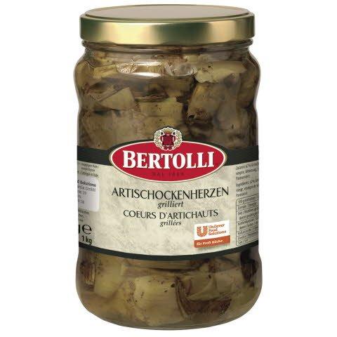 Bertolli Cœurs d'artichauts grillées 1,5 KG -