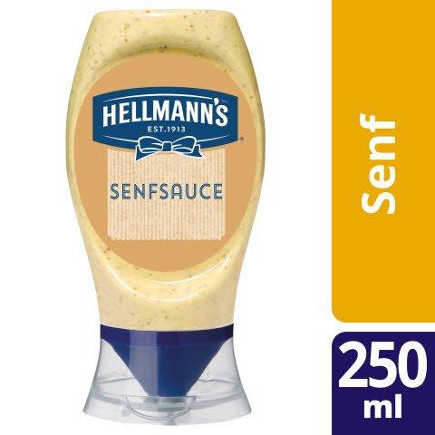 HELLMANN'S Deli style Sauce à la moutarde 250 ml bouteille squeezer -