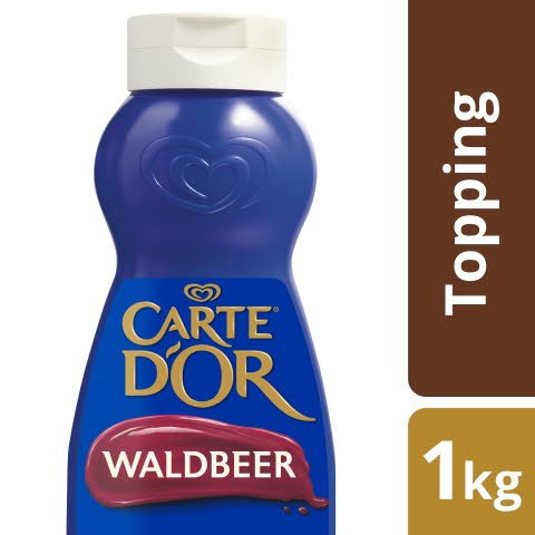 Carte D'or Dessert Topping Baies des Bois 1 KG -
