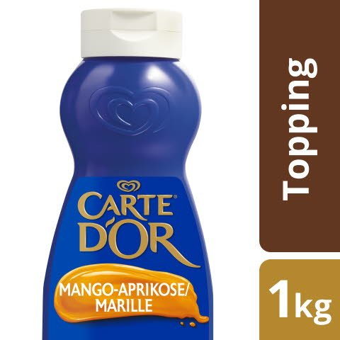 Carte D'or Dessert Topping Mangue-Abricot 1 KG