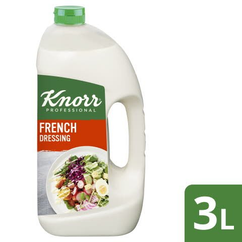 Knorr French Dressing 3 L - KNORR French Dressing. La valeur sûre.