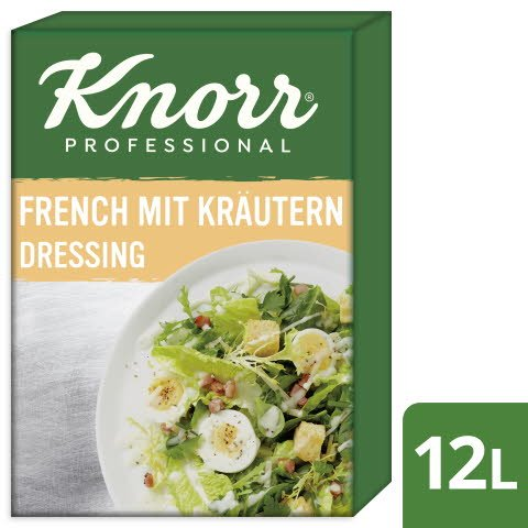 Knorr French Dressing aux Herbs 12  -