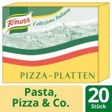 Knorr Abaisses de pâte à pizza 8 KG