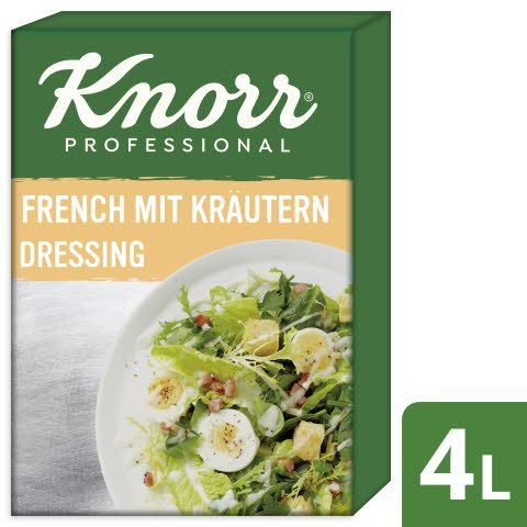 Knorr French Dressing aux herbes 4 L