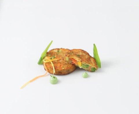 Caterline Galettes de légumes 7 KG (175 pieces à env. 40 g) -