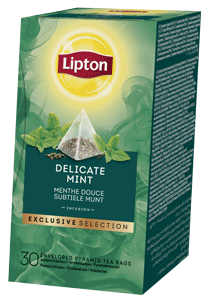 Lipton Menthe Douce Infusion Pyramid 30 sachets