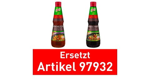 Knorr KETJAP MANIS Sauce-au-Soja douce 1 L -