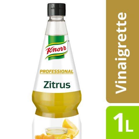 Knorr Professional Vinaigrette Citrus 1 L - Qualité, créativité, goût maison – en toute simplicité !