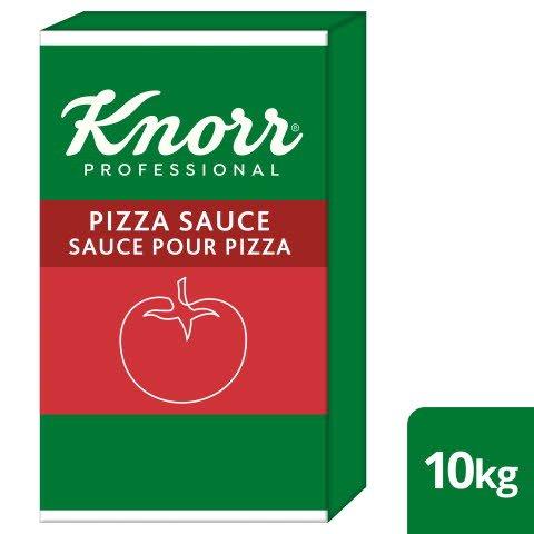 Knorr Sauce Pour Pizza 10 KG - Knorr Sauce pour pizza: uniquement des tomates italiennes avec une pincée de sel marin. Utilisations multiples