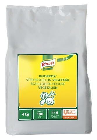 Knorr Knorrox Bouillon en poudre végétalien 4 KG